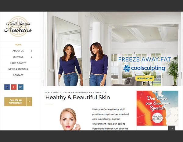 beautiful websites from Suite 3 Marketing
